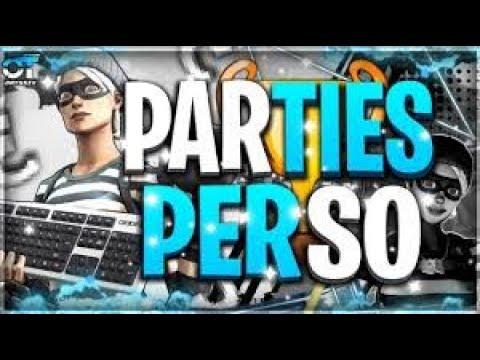 Live Parties Personalisées