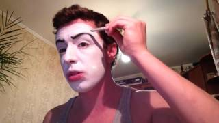 видео Театральный грим и макияж для лица
