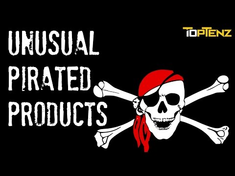 5 Unusual (and Oddly Popular) Pirated Products