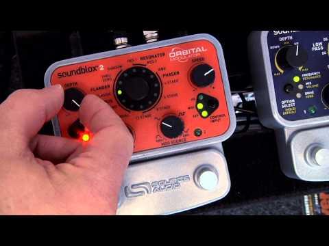 Soundblox 2 Orbital Modulator: Vibrato Effect
