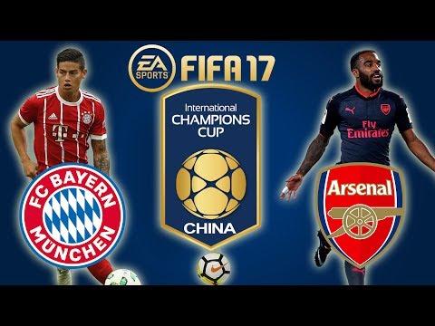 FIFA 17 | Bayern Munich vs Arsenal | International Champions Cup 2017 | PS4 Full Gameplay