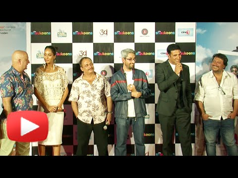 Akshay Kumar Gets Angry On A Journalist To Protect Lisa Hayden | The Shaukeens Trailer Launch