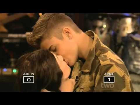 Justin Bieber kissed lifeless mannequin