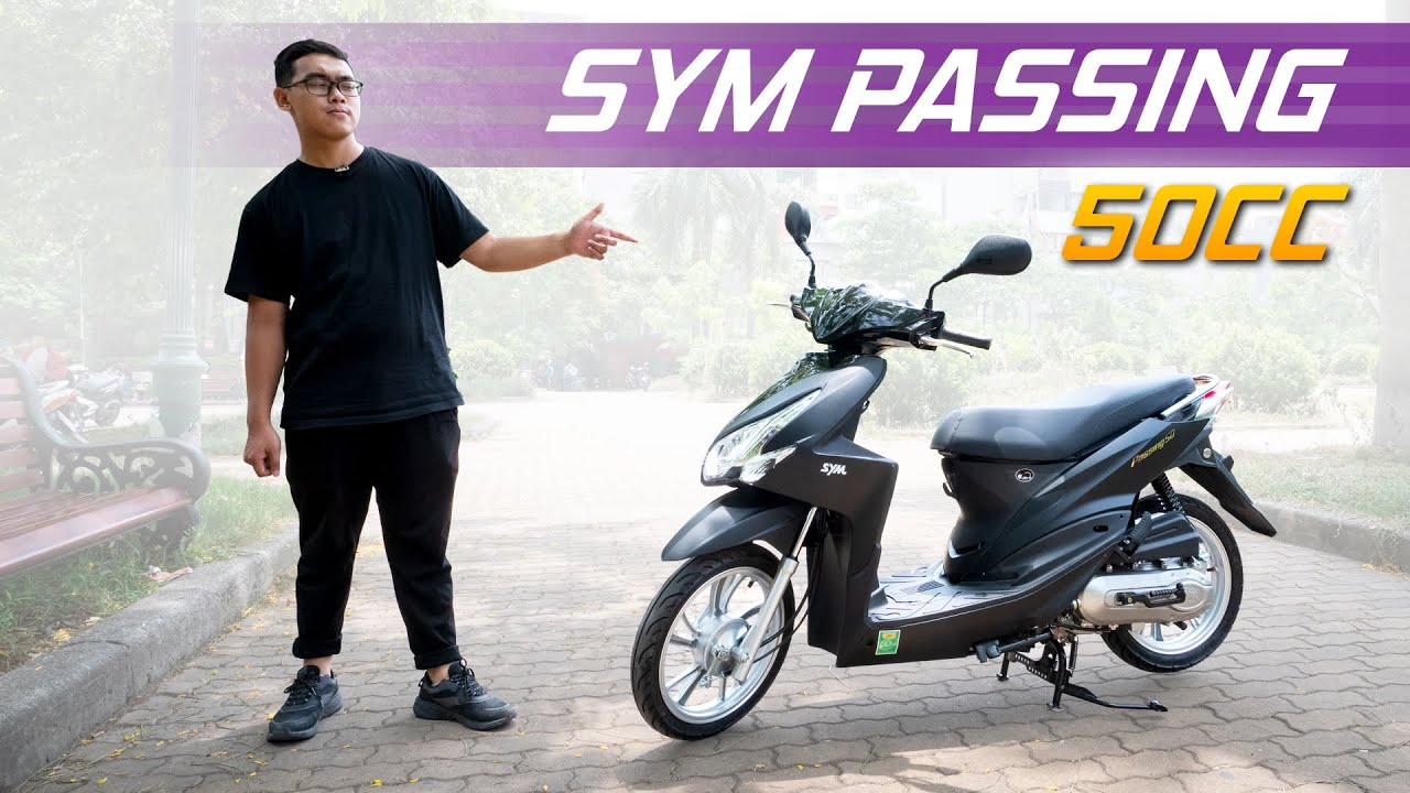 Xe ga 50cc SYM Passing: Ngầu như Vario, giá 24 triệu!