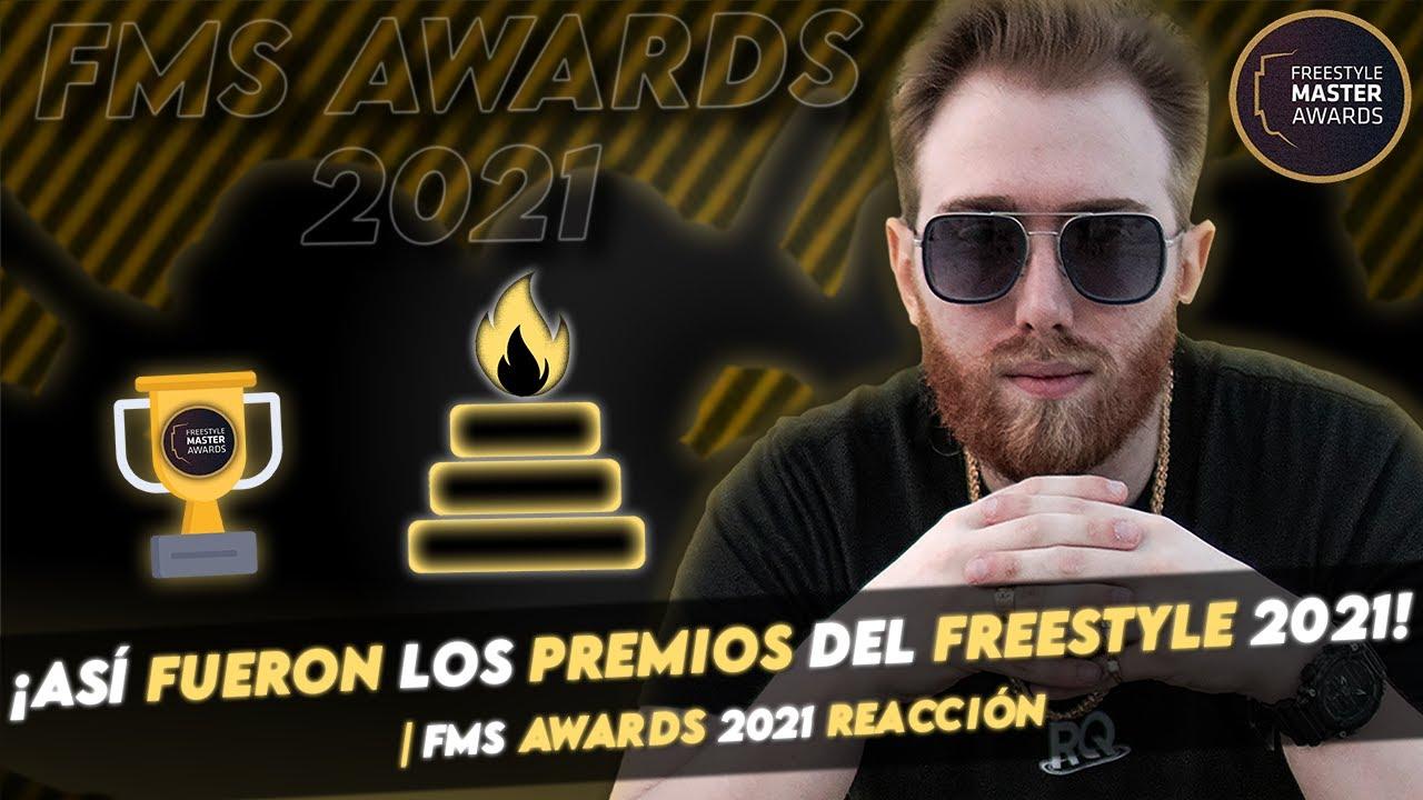 ¡ASÍ FUERON LOS PREMIOS DEL FREESTYLE 2021! | FMS AWARDS 2021 REACCIÓN