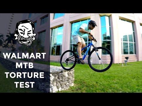 Walmart Bike Torture Test - Street Trials