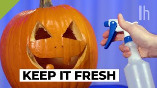 How to Preserve a Jack-O'-Lantern or Pumpkin for Halloween