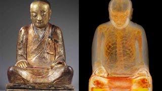 Замурованный Монах | Как Мумия Монаха попала в статую Будды | Бессмертный монах thumbnail