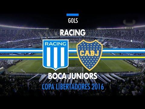 Gol - Racing-ARG 0 x 1 Boca Juniors-ARG - Libertadores - 13/04/2016