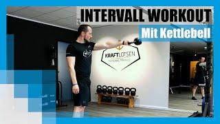 Workout: 4 Minuten Intervalltraining mit Kettlebell & Plank