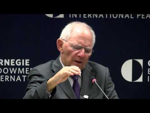 German Finance Minister Wolfgang Schäuble on G20 Priorities and Transatlantic Relations