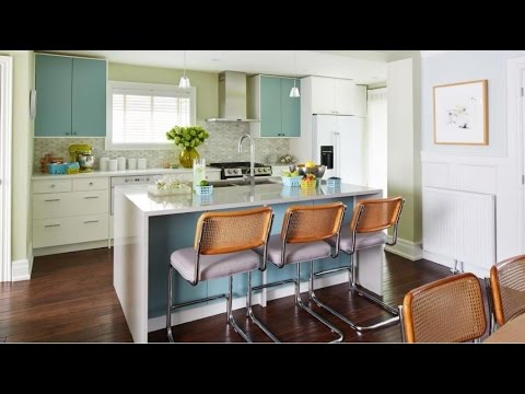Small kitchen design for small house and apartment room ideas youtube - Kitchen style for small space paint ...