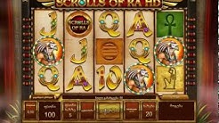 Scrolls of RA HD   Isoftbet SLots  big win
