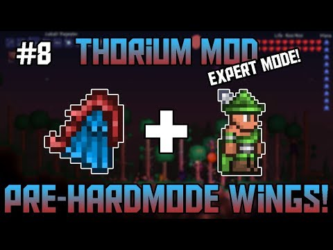 The Flight Wings! Thorium Mod Expert Mode Bard Let's Play ||Episode 8||
