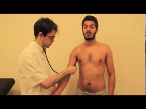 Auscultation de l'artère humérale
