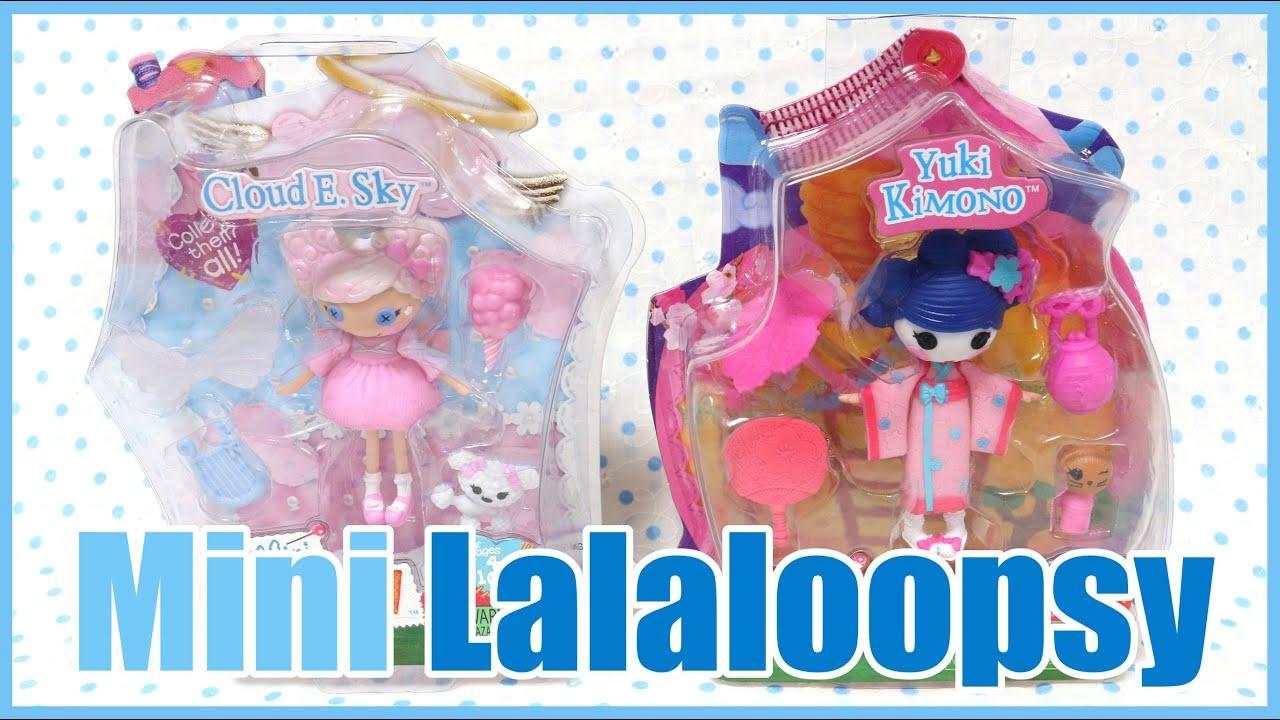 Lalaloopsy Toy Food : Mini lalaloopsy dolls youtube
