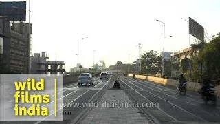 Flyover Near Ellis Bridge In Ahmedabad : Gujarat Shining