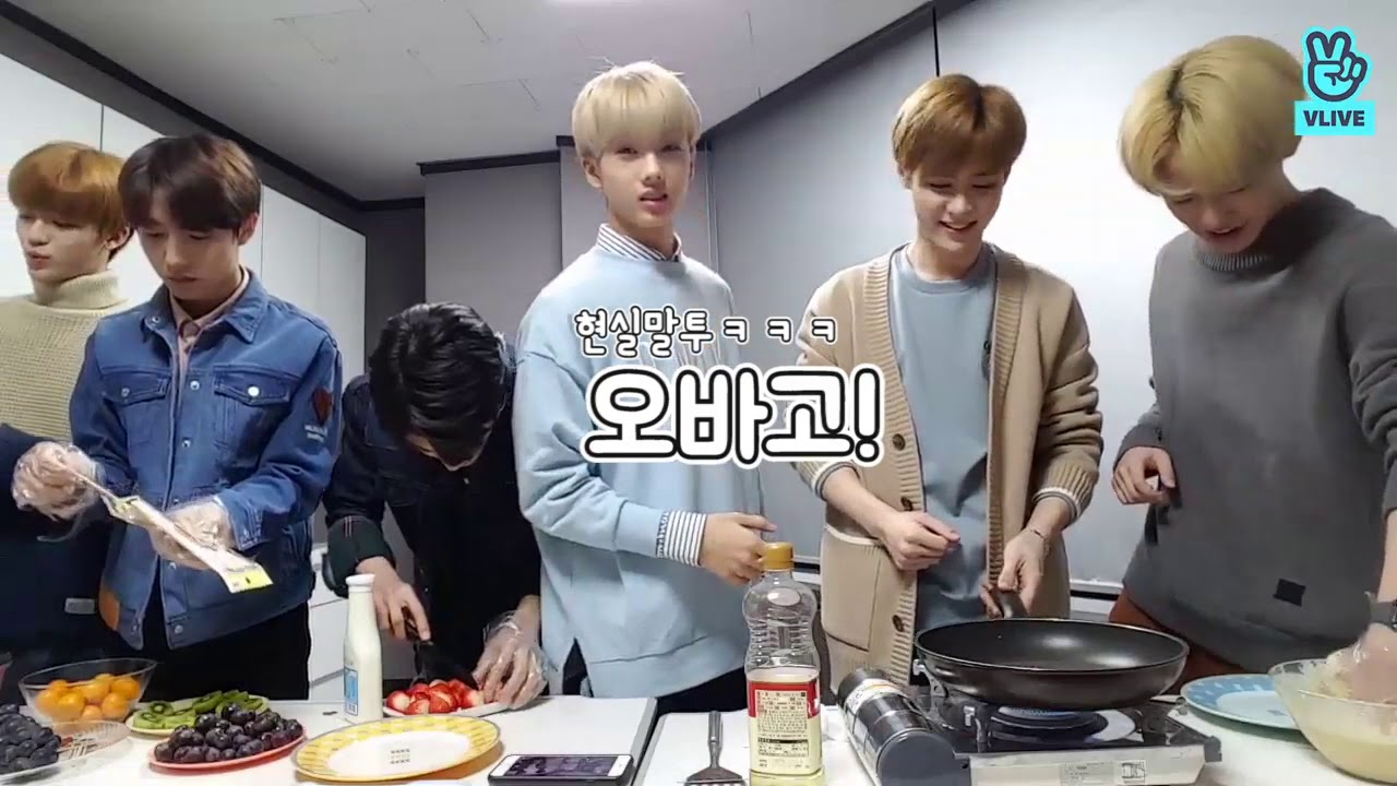 [NCT] KUN-REAM making desserts : highlight