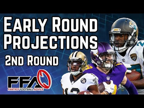 Early Round Projections - 2019 Fantasy Football Advice
