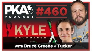 PKA 460 w/ Bruce Greene formerly of Funhaus & Tucker - Kyle Prison Stories, Tucker's Scooter Injury