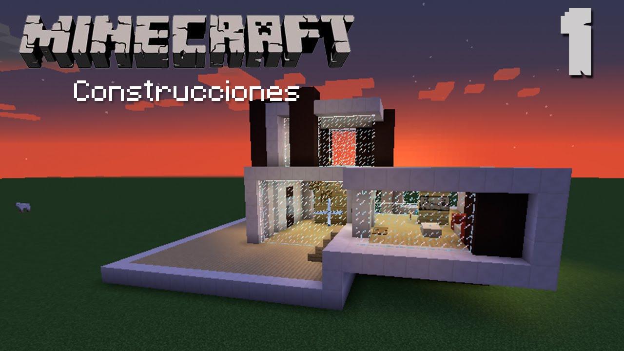 Modernidad de cuarzo 1 minecraft construcciones youtube for Casa moderna lyna