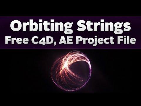 Orbiting Strings - Cinema 4D Tutorial