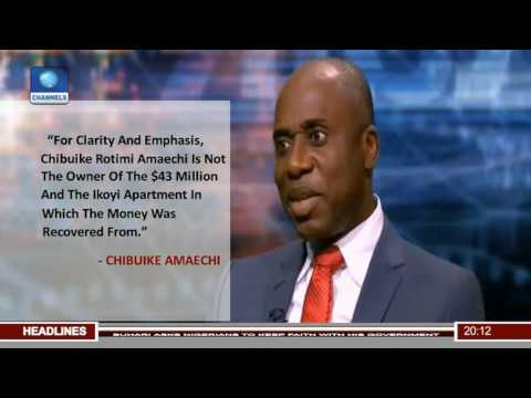 Fighting Corruption: Amaechi Denies Ownership Of Funds Recovered In Lagos Home