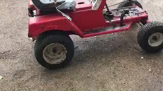 Préparation tracteur tondeuse moteur euro2