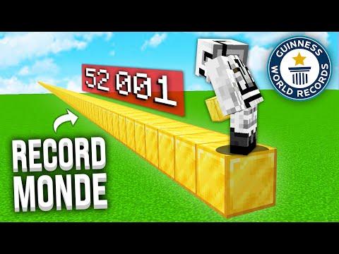 J'ai posé 52 000 Blocs pour battre un Record du Monde !