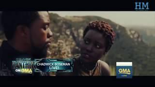 Black Panther - Chadwick Boseman (Best Interview Compilation), mtv, the view, Ellen..
