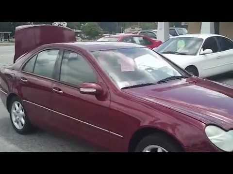 2002 mercedes benz c240 pay day auto sales used cars. Black Bedroom Furniture Sets. Home Design Ideas