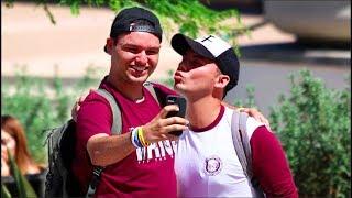 Flirting With Fans at SDSU!!
