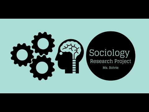 Sociology Research Project