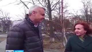 Первое интервью Носова в Магадане