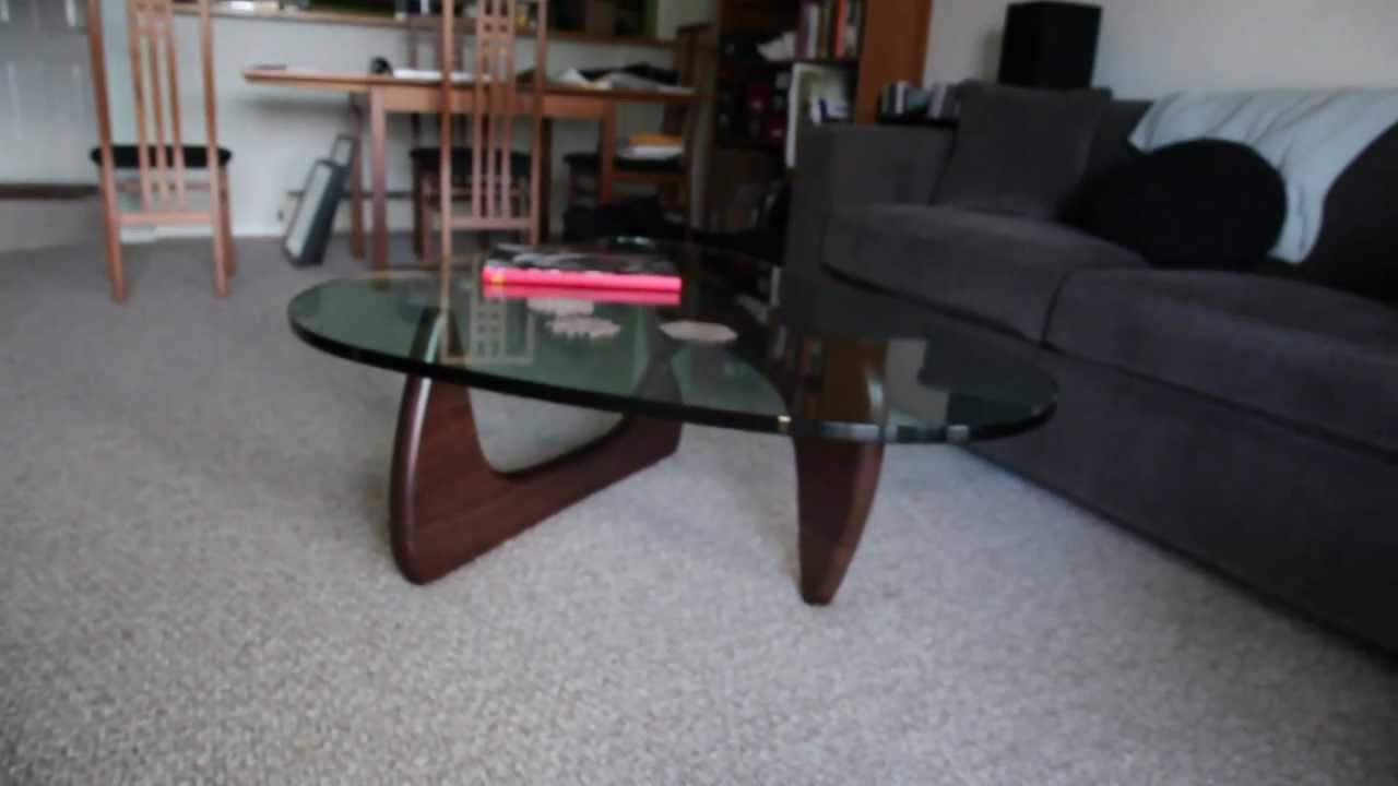 Noguchi coffee table by herman miller youtube Herman miller noguchi coffee table