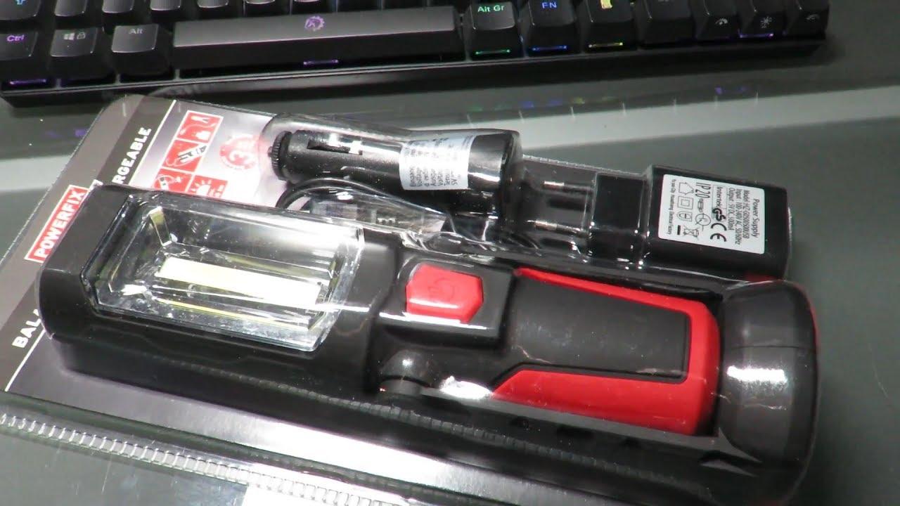 baladeuse led rechargeable powerfix lidl version 2018