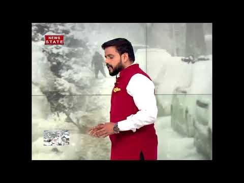 Cold Wave Grips Jammu And Kashmir Following Heavy Snowfall In Srinagar
