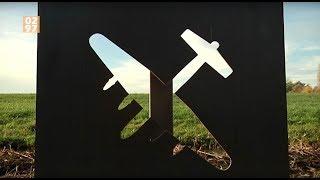 Gedenkzuil voor neergestort WOII-vliegtuig Waverveen - 0297.nl