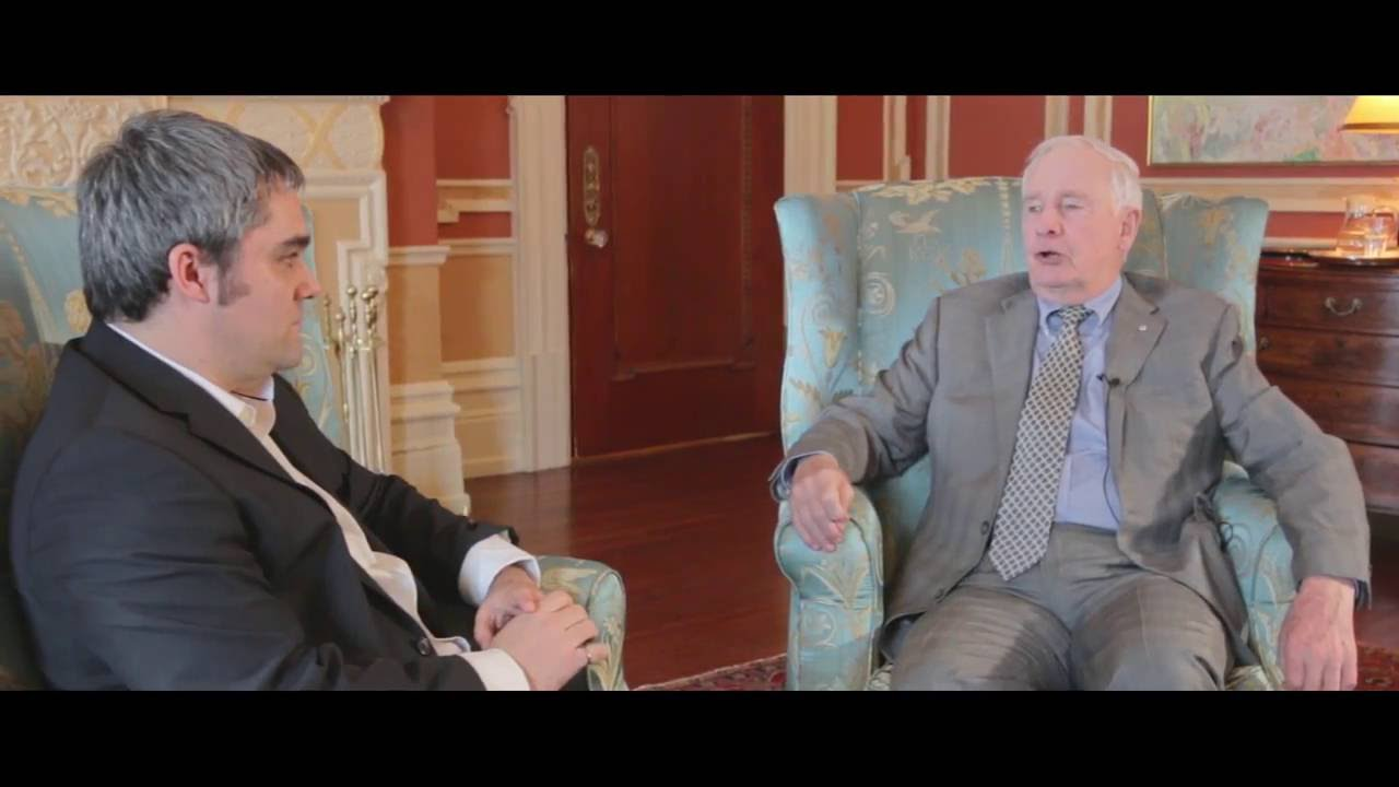 A Conversation with Kurtis McBride and Governor General David Johnston (Full Conversation)