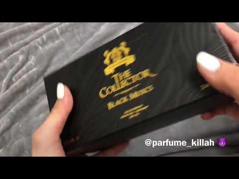 Распечатка парфюма Alexandre J BLACK MUSKS
