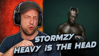 Gambar cover STORMZY - Heavy Is The Head Full Album REACTION/REVIEW