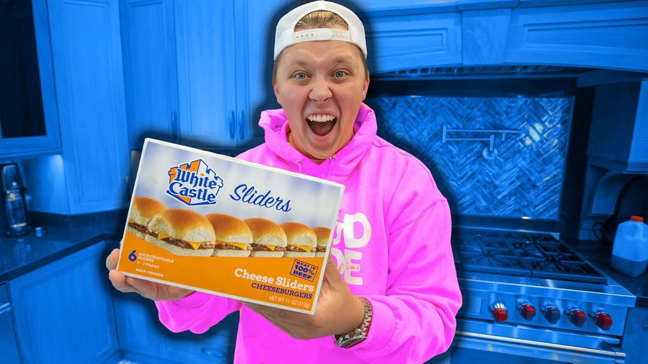 WHITE CASTLE AT HOME!!!!