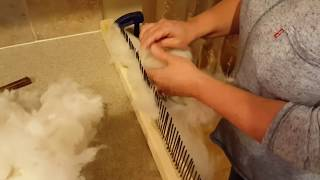 Preparing Alpaca Fiber for Spinning - Without Spending a Ton of Money