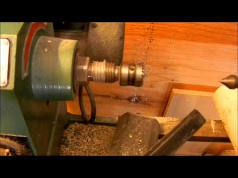 Harbor Freight 12x36 Wood Lathe review and walk around