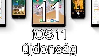 11 újdonság az iOS 11-ben