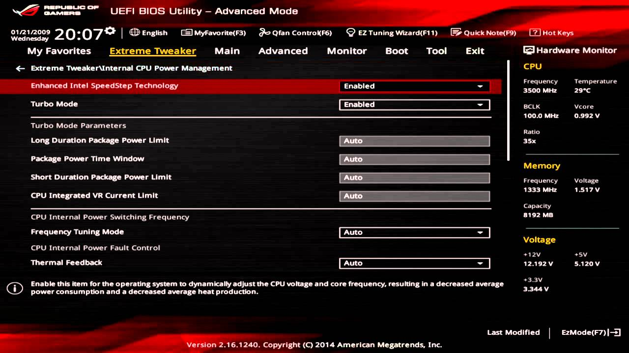 how to go to asus bios