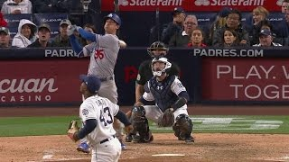 Bellinger launches a grand slam to right in a dominant game