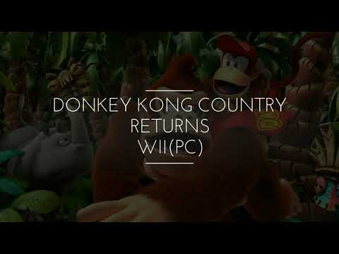 Wii No PC - Donkey Kong Country Returns (TORRENT)