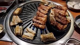 [4K] 경남 마산 맛집 - 남광회관에서 삼겹살과 장어…