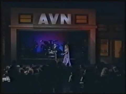 "Kaitlyn Ashley wins Best Supporting Actress - Video for ""Shame"" at the 1995 AVN Awards"